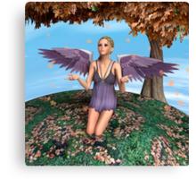 Autumn Angel Canvas Print