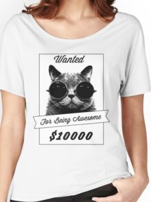 Wanted for Awesome Women's Relaxed Fit T-Shirt