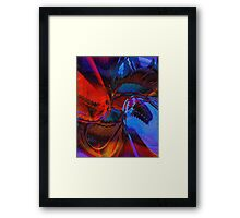 Take A Swim On The wild Side Framed Print