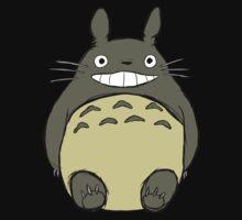Totoro (unshaded) One Piece - Short Sleeve
