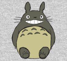 Totoro (unshaded) Kids Tee