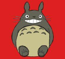 Totoro (unshaded) Baby Tee