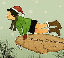 Merry Christmas! by Rizky Warnerin Illustration