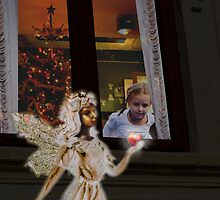 Christmas Fairy by fodorpetya