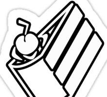 Portal Cake Sticker