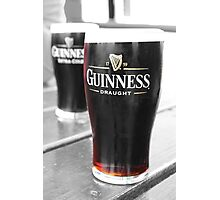Guiness Photographic Print