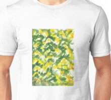 Fall Leaf Abstract Finger Painting  Unisex T-Shirt