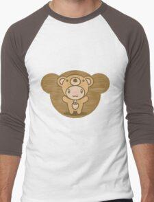 The stuffed toy of the bear Men's Baseball ¾ T-Shirt
