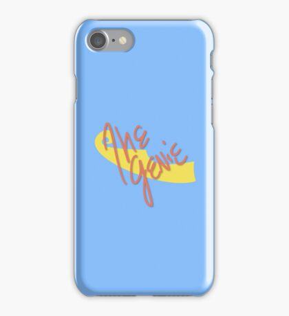 Genie Symbol & Signature iPhone Case/Skin