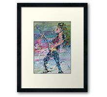 ELECTRIC GUITARISM Framed Print
