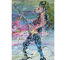 ELECTRIC GUITARISM Photographic Print