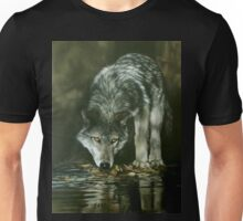 Wolf of the lake Unisex T-Shirt