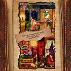 The Curious Library Calendar - April by Aimee Stewart