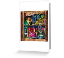 The Curious Library Calendar - December Greeting Card