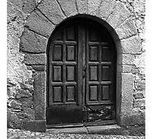 Old Spanish Door Photographic Print