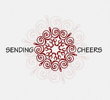 Sending Cheers - Christmas - Card by red addiction