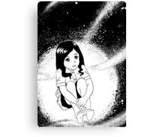 girl from outer space Canvas Print