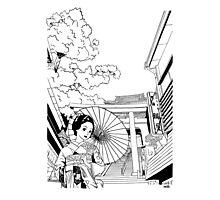 Enoshima - Kanagawa-ken Photographic Print