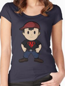 Super Ness Women's Fitted Scoop T-Shirt