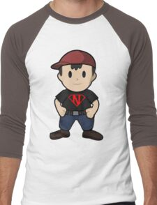 Super Ness Men's Baseball ¾ T-Shirt