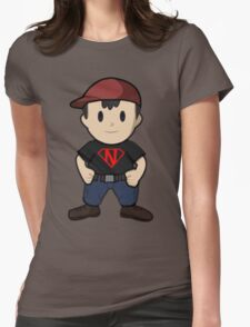 Super Ness Womens Fitted T-Shirt