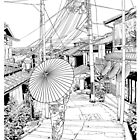 Kyoto - the old city by parisiansamurai