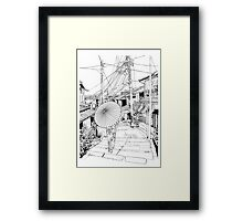 Kyoto - the old city Framed Print