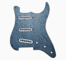 Guitar Pickguard Jeanse Wonderful decoration Clothing & Stickers  by goodmusic