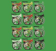 Folded Brompton Bicycle Kids Clothes