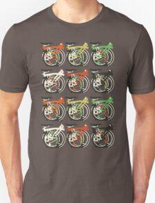 Folded Brompton Bicycle Unisex T-Shirt
