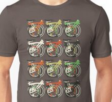 Folded Brompton Bicycle Unisex T-Shirt