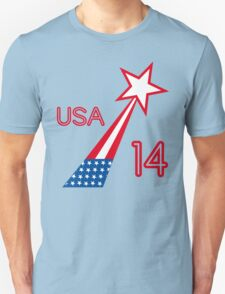USA STAR Unisex T-Shirt