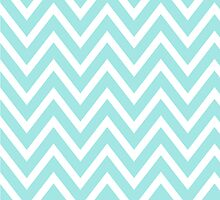 Chevrons, ZigZag Background Blue & White by roughcollie5