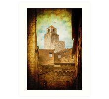 San Gimignano, Tuscany - Italy Art Print