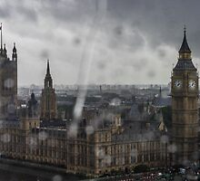 Parliament in the Rain by Alice Hayes