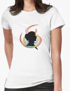 Mercedes' Colours Womens Fitted T-Shirt