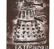 Dalek by drewhird