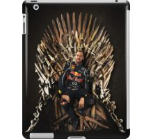 Vettel Sits the Iron Throne iPad Case/Skin