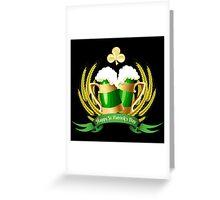 Green beer Greeting Card