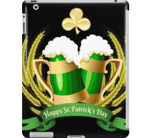 Green beer iPad Case/Skin
