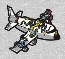 Snakes on a Plane (literally) One Piece - Long Sleeve
