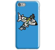 Snakes on a Plane (literally) iPhone Case/Skin