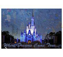 Disney World Castle by Redpandazzz