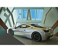 2012 Ferrari F458 'Challenge Car' Photographic Print