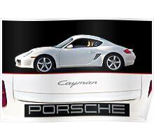 2013 Porsche Cayman Poster