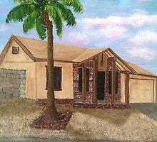 """Hey Pops; Help Me Paint The House""..........""Sure Son"" by WhiteDove Studio kj gordon"