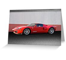 2011 Ford GT IV Greeting Card