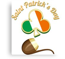 Saint Patricks Day Theme Canvas Print