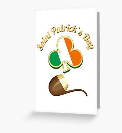 Saint Patricks Day Theme Greeting Card