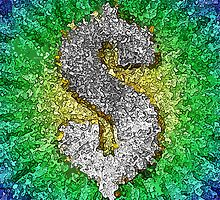 Dollar Sign Pop Art by morningdance